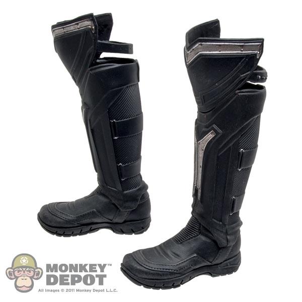 56645531fa531 Monkey Depot - Boots  Hot Toys Thor Black Boots