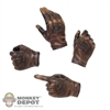 Hands: Sideshow Star Wars Rey Brown Molded Hand Set