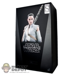 Display Box: Hot Toys Star Wars Rey Sideshow Exclusive (Empty Box)