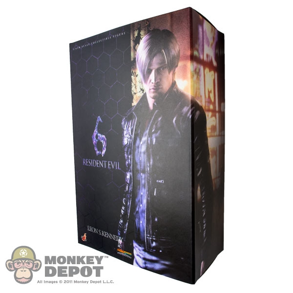 Display Box Hot Toys Resident Evil 6 Leon S Kennedy Empty 902750