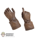 Hands: Hot Toys Brown Molded Pistol Grip Hands