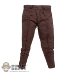 Pants: Hot Toys Han Solo Brown Pants
