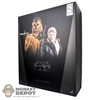 Display Box: Hot Toys Star Wars - Han Solo & Chewbacca Exclusive (Empty Box)