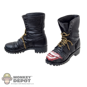 Boots: Hot Toys Black Molded Joker Boots