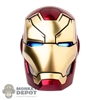 Head: Hot Toys Light Up Iron Man Mark XLVII Head
