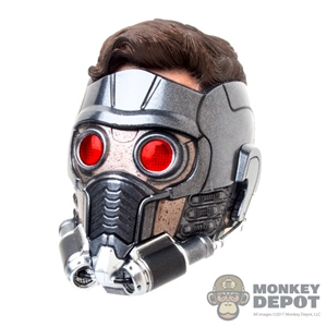 Head: Hot Toys Light Up Star-Lord Head