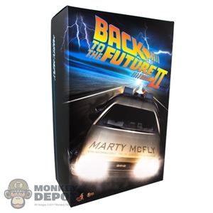 Display Box: Hot Toys Back to the Future II Marty McFly (EMPTY BOX)