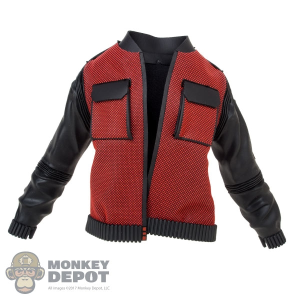 30aaf1a1959 Monkey Depot - Coat  Hot Toys Marty McFly Jacket