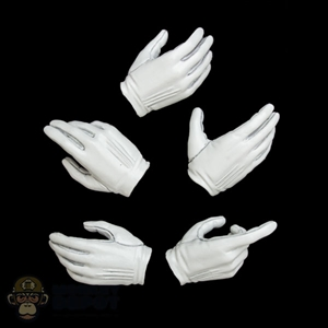 Hands: Hot Toys White Female Molded Hand Set