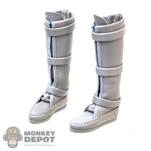 Boots: Hot Toys Princess Leia Gray Boots