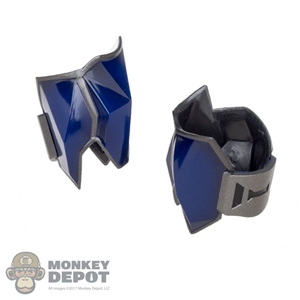Pads: Hot Toys Arkham Knight Batman Blue Elbow Armor