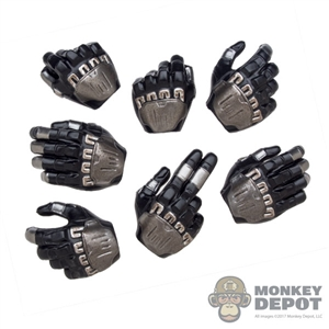 Hands: Hot Toys Arkham Knight Batman Molded Hand Set