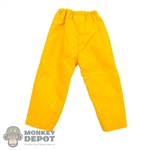 Pants: Hot Toys Dr. Emmett Brown Yellow Pants