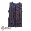Vest: Hot Toys Brown & Blue Vest