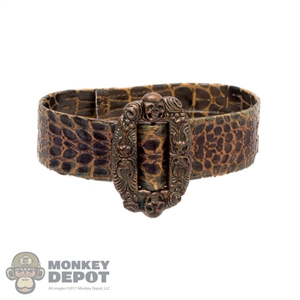 Belt: Hot Toys Snakeskin Leatherlike Belt