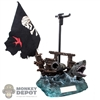 Stand: Hot Toys Ship Debris w/Flag