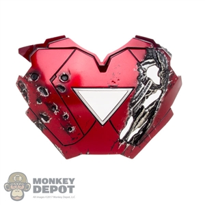 Armor: Hot Toys Damaged Iron Man Mark VI Chest Plate