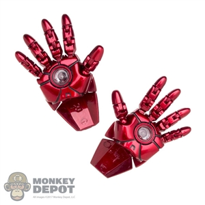 Hands: Hot Toys Iron Man Mark VI Poseable Fingers