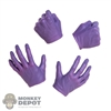 Hands: Hot Toys Joker Purple Hand Set