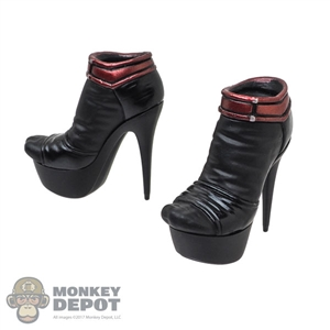 Shoes: Hot Toys Deadpool High Heeled Shoes