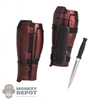 Armor: Hot Toys Deadpool Leg Guards w/Knife