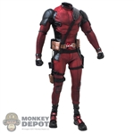 Figure: Hot Toys Deadpool 2 w/Belt & Pouches