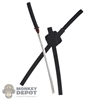 Sword: Hot Toys Metal Katanas w/Sheath