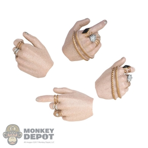Hands: Hot Toys Harley Quinn Hand Set w/Rings
