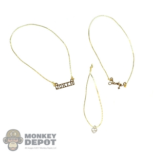 Necklace: Hot Toys Harley Quinn Necklace Set