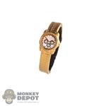 Watch: Hot Toys Gold Colored Watch