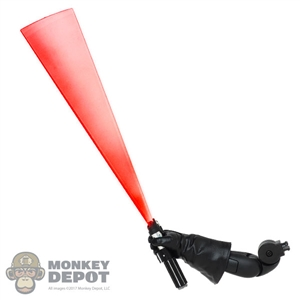 Tool: Hot Toys Darth Vader Red Lightsaber Blade In Motion