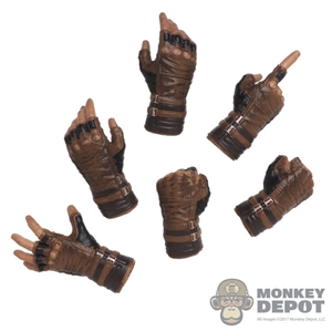 Hands: Hot Toys Brown Captain America Hand Set