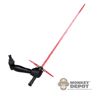Arm: Hot Toys Kylo Ren's Right Arm w/LED Lightsaber
