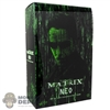 Display Box: Hot Toys The Matrix - Neo