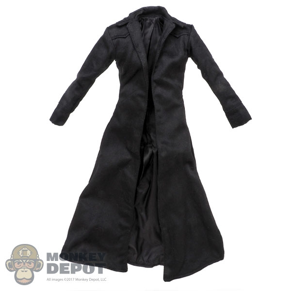 9409860a635 Monkey Depot - Coat  Hot Toys Mens Long Black Jacket (Neo)