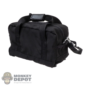 Bag: Hot Toys Black Duffle Bag