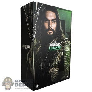 Display Box: Hot Toys Justice League Aquaman (903123) (EMPTY BOX)