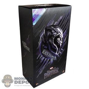 Display Box: Hot Toys Black Panther (903380) (EMPTY BOX)