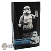 Display Box: Hot Toys Star Wars Storm Trooper (EMPTY BOX)