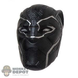 Head: Hot Toys Black Panther w/Interchangeable Eyes