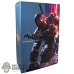 Display Box: Hot Toys Arkham Origins Deathstroke (EMPTY BOX)