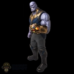 Figure: Hot Toys Infinity War Thanos w/LED Gauntlet + Infinity Stones