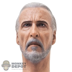 Head: Hot Toys Count Dooku