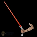Arm: Hot Toys Right Arm w/LED Lightsaber