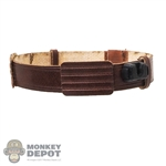 Belt: Hot Toys Count Dooku's Brown Leather-Like Belt