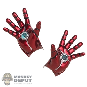 Hands: Hot Toys Iron Man Mark 50 Open Hands