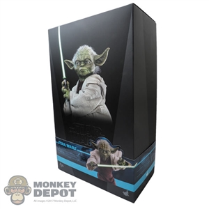 Hot Toys Star Wars Attack of the Clones Yoda (EMPTY)