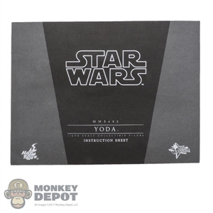 Tool: Hot Toys 1:1 Attack of The Clones Yoda Instructions