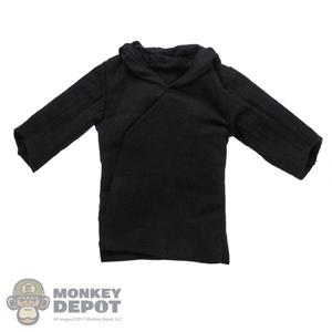 Tunic: Hot Toys Mens Black Hooded Tunic