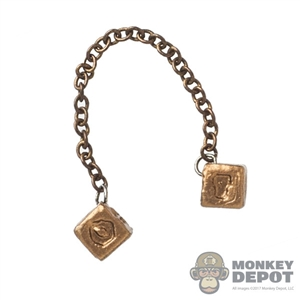 Tool: Hot Toys Metallic Gold-Colored Lucky Dice